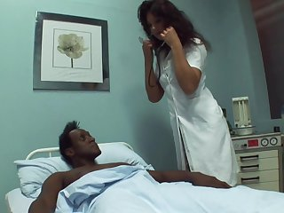 Black dude needs some sexual healing to get better and that doctor loves sex